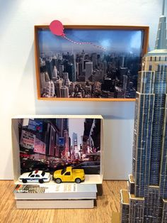 Shadow Boxes New York selbst basteln