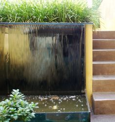 Fontaine de jardin Mur d\'eau inox 304 | Fountains | Pinterest ...