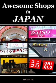 10 Awesome Shops in Japan