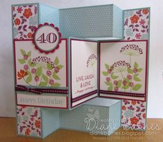 168 best tri fold shutter cards images on pinterest fancy fold colour me happy tri shutter card m4hsunfo