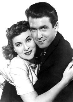 "Jimmy Stewart & Paulette Goddard in a publicity photo for ""Pot o' Gold"" (1941)"