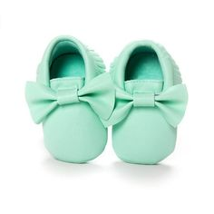 2016 New 22 Colors Tassels Baby Moccasin Newborn Babies Shoes Soft Bottom PU leather Prewalkers Boots