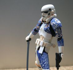 Recently, we brought you news of the amazing Star Wars Movie Realisation Series of figurines, which have perfectly transformed Darth Vader, Boba Fett and Stormtroopers into awesome-looking samurai warriors.  But if you're itching for a Japanese-styled Star Wars character of your own, you might want to do what this  ...
