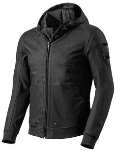 The waterproof and breathable REVIT Stealth takes the appearance of a wardrobe must-have hoody and incorporates motorcycle functionality into it. Poly/cotton...