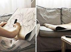 Lámina con dibujo zentangle * DIY