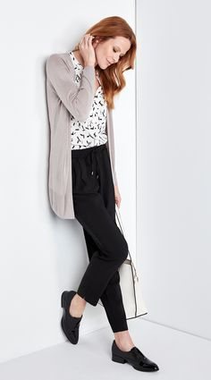 Soft Dressing is a big trend this season - relaxed pieces that will soften your silhouette and forever change your style. Capri Pants, Dressing, Silhouette, Change, Big, Tops, Style, Fashion, Capri Trousers