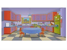 Innamorarsi in cucina: La cucina dei Simpson