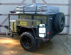 7 Best Off-Road Trailers - Gear Patrol - Camper Wiz Bug Out Trailer, Off Road Camper Trailer, Trailer Tent, Trailer Plans, Trailer Build, Camper Trailers, Jeep Camping Trailer, Landrover Camper, Offroad Camper