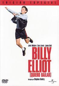 DVD CINE 1534 - Billy Elliot: quiero bailar (2000) Reino Unido. Dir.: Stephen Daldry. Drama. Adolescencia. Familia. Homosexualidade. Anos 80. Sinopse: en 1984, no condado de Durham, sucédense os enfrontamentos. Entre os mineiros máis exaltados están Tony e o seu pai. Este empeñouse en que Billy, o seu fillo pequeno, reciba clases de boxeo. Pero o mozo carece por completo de pegada. Un día Billy observa a clase de ballet da señora Wilkinson, quen o anima a participar.