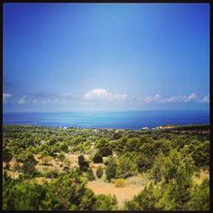 Inmense blue of Ibiza #IbizaImages