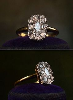 Beautiful vintage engagement ring