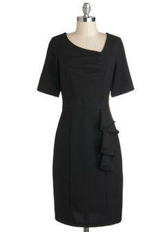 Perfect for when im a teacher<3  Profesh Start Dress, #ModCloth
