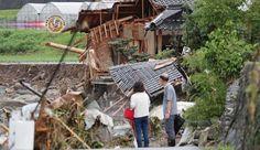 Confirmadas 30 mortes nas chuvas recordes de Kyushu. O número de mortos, causados pelas chuvas recordes da semana passada, no norte de Kyushu, aumentou para