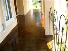 Acid Staining | Concrete Staining