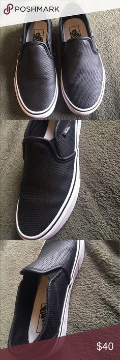 Vans Plain black vans Vans Shoes Sneakers