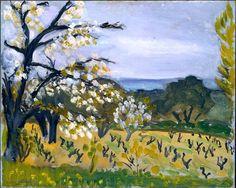 Landscape, Nice Henri Matisse (French, Le Cateau-Cambrésis 1869–1954 Nice)