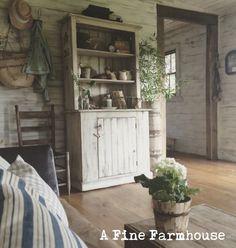 Living Room Cupboard.  A Fine Farmhouse.   https://www.etsy.com/shop/afinefarmhouse
