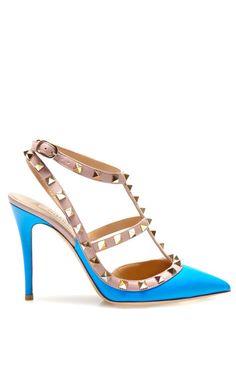 Shop Rockstud Slingback by Valentino for Preorder on Moda Operandi