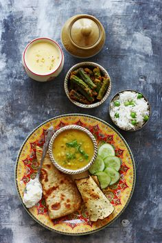 We would like to call it a balanced Indian meal because it has lentil, veggies, whole grain, rice, dairy and condiments. What else you need to make this meal more perfect. Explore the depth of flavor in fresh, seasonal produce each week. funfoodfrolic.com