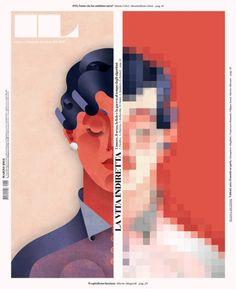 Portada de IL, suplemento mensual de Il Sole 24 Ore. Director de arte: Franceso Franchi (francescofranchi.com)
