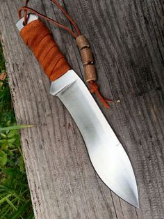 Ogre's Toothpick custom knive hand made by WillowCellar on Etsy, €55.00