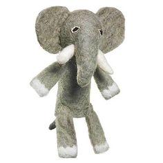Woolie Finger Puppet - Elephant - Wild Woolies (T)