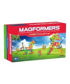 Neon Magformers Set