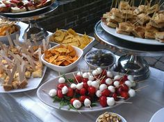 #food from our Aperitivo Evening, served with #Italian cocktails and beer
