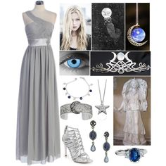 """""""Selene (Goddess of the Moon)"""" by lilacmayn on Polyvore"""