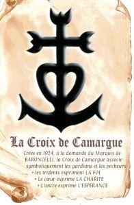 Painting Idea for Mari.  Camargue Cross - symbol of faith, hope, and love.