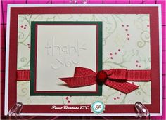 Thank You Card by Paper Creations, ETC