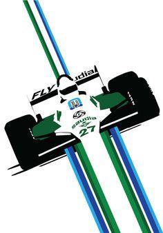 F1 Files on Behance