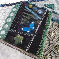 I ❤ crazy quilting . . . ~By Cyra L., New Zealand