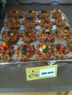 Birds Nests for Angry Bird Party
