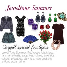 """Caygill Special Focalizers: Jeweltone Summer"" by expressingyourtruth on Polyvore"