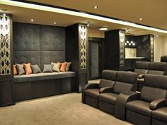 Home Theater Designs From CEDIA 2013 Finalists