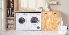 Wasmachinekast underlayment - MET BOUWTEKENING