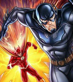 Batman and Flash!