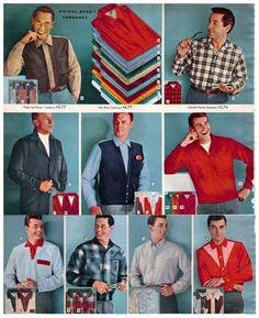 1957 Mens shirts