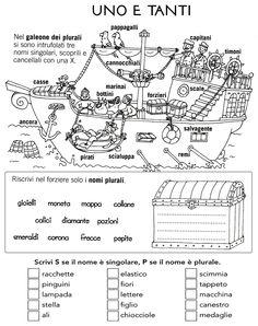 Language Activities, Activities For Kids, Italian Lessons, Italian Language, Worksheets, Classroom, Teaching, Education, School