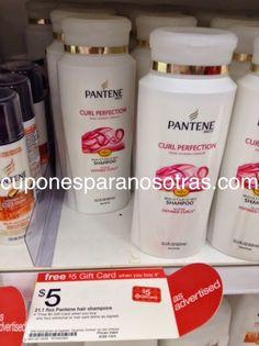 Target: Pantene Shampoo o Acondicionador 21.1oz a sólo $1.75