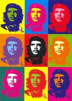 Che Guevara, 1968 -Andy Warhol - by style - Pop Art