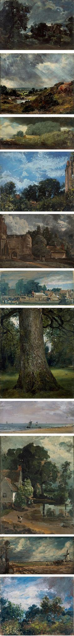 Constable's oil sketches