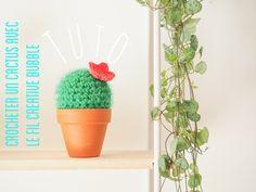 Crocheter un cactus avec une pelote de Creative Bubble (Rico Design) - Le tuto qui a du piquant !