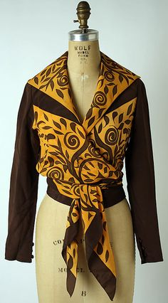 Blouse   Chloé (French, founded 1952)   France, 1974   Material: silk   The Metropolitan Museum of Art, New York