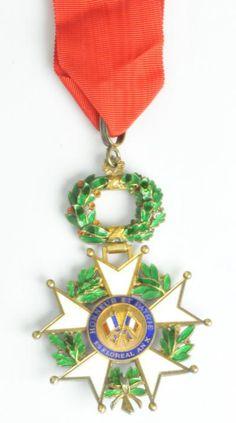Medal of the chevalier de la légion d'honneur