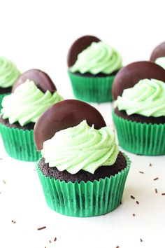 Chocolate Mint Cupcakes                                                                                                                                                                                 More