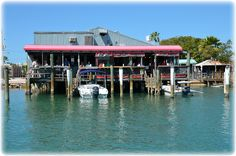 Started and ended with dinner at The Wharf  Seafood Restaurant & Bar - Pass-A-Grille