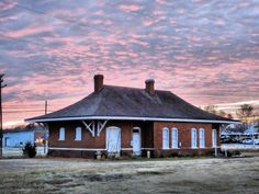 The Roanoke Rapids Seaboard Airline railroad station. At Hamilton Street. The Junction..is what I heard it was called.