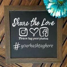 7 Steps For the Perfect Wedding Hashtag - Cheers and Confetti Blog by Eventective Rustic Wedding Photos, Rustic Wedding Signs, Wedding Signage, Rustic Signs, Diy Wedding Photo Booth, Reception Signs, Woodland Wedding, Wedding Pictures, Wedding Banners
